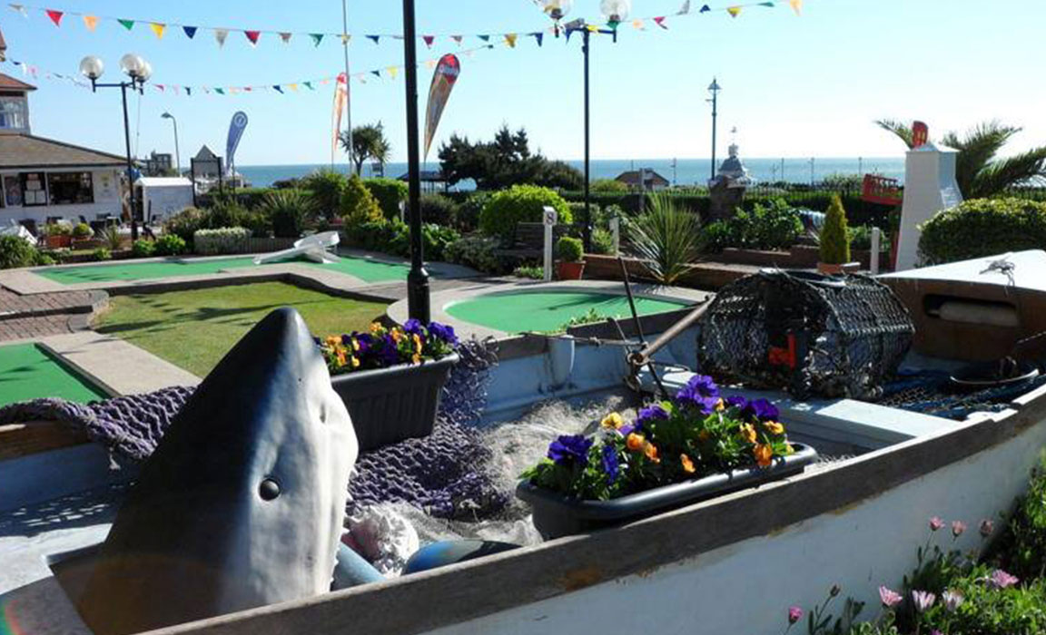 The Tea Garden at Lillyputt Minigolf